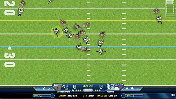 quick hit football games online