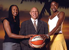 Chamique Holdsclaw, Henry Bibby, Lisa Leslie