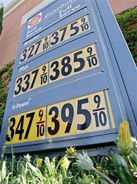 Shell price board
