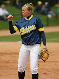 Image result for jennie ritter michigan softball