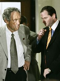 Eddie Sutton, left and Sean Sutton.