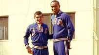 Bob Carmody and Joe Frazier
