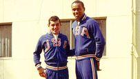 Bob Carmody and Joe Frazier