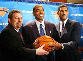 James Dolan, Isiah Thomas, Steve Mills