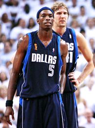 Josh Howard and Dirk Nowitzki