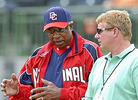 Frank Robinson and Jim Bowden