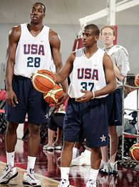 Chris Paul and Dwight Howard