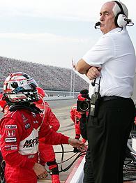 Sam Hornish Jr. and Roger Penske