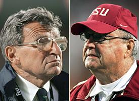 Joe Paterno and Bobby Bowden