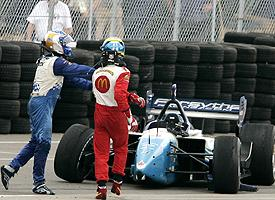 Paul Tracy and Sebastien Bourdais