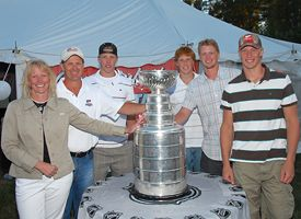 Eric Staal and Family