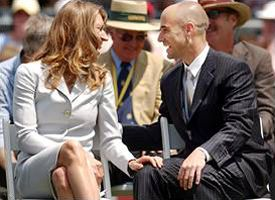 Stefi Graf and Andre Agassi