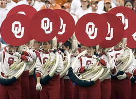 Oklahoma Sooner Marching Band