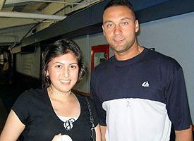 Brianna Macaluso and Derek Jeter