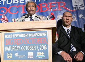 Don King and Nicolay Valuev