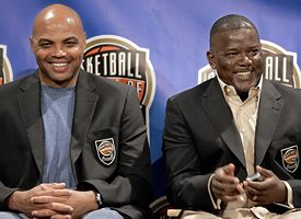 Charles Barkley and Joe Dumars