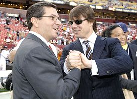 Daniel Snyder and Tom Cruise