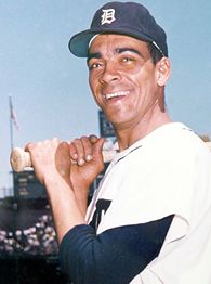 Ozzie Virgil played for three years with the Detroit Tigers