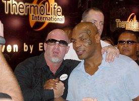 Victor Conte and Mike Tyson