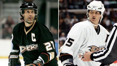 Scott Niedermayer and Chris Pronger