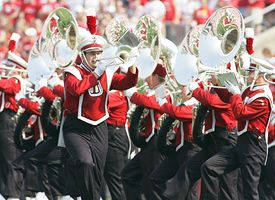 The Wisconsin Badgers Marching Band