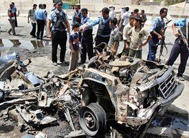 Iraq car bomb explosion