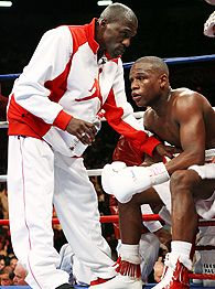 Roger Mayweather and Floyd Mayweather Jr.