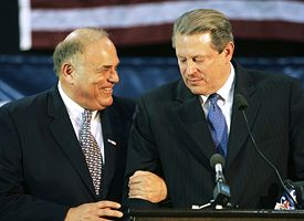 Ed Rendell, left, and former Vice President Al Gore.