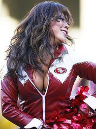 49ers cheerleader