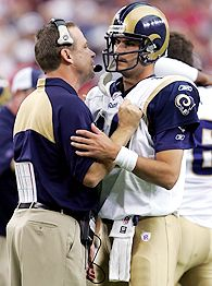 Scott Linehan and Marc Bulger