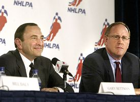 Gary Bettman and Bob Goodenow