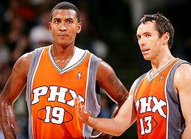 Raja Bell and Steve Nash