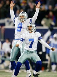 Martin Gramatica #7 and Tony Romo #9