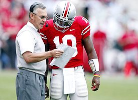 Troy Smith and Him Tressel