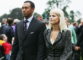 Tiger Woods and Elin Woods