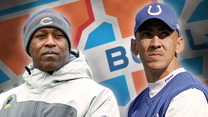 Lovie Smith and Tony Dungy