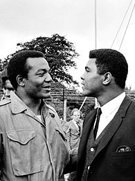 Muhammad Ali and Jim Brown