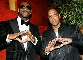 LeBron James, Jay-Z