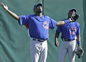 Cliff Floyd and Alfonso Soriano