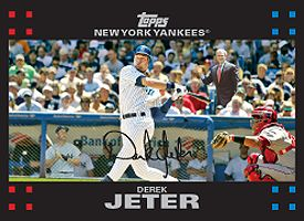 Jeter baseball card
