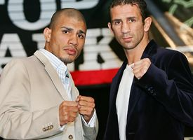 Miguel Cotto and Oktay Urkal