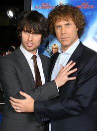 Will Ferrell and Jon Heder