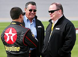 Felix Sabates and Chip Ganassi