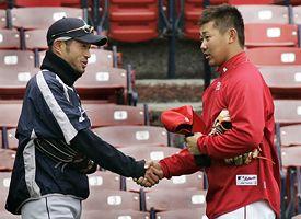 Ichiro and Daisuke Matsuzaka
