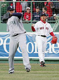Daisuke Matsuzaka & Felix Hernandez