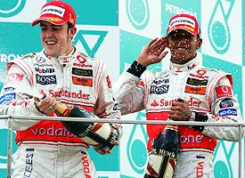 Alonso and Hamilton