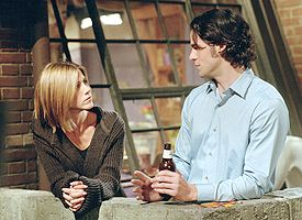 Jennifer Aniston and Eddie Cahill