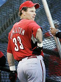 josh hamilton pitching machine