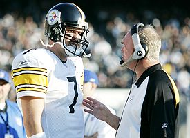Ben Roethlisberger and Mark Whipple