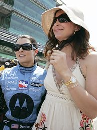 Danica Patrick and Ashley Judd
